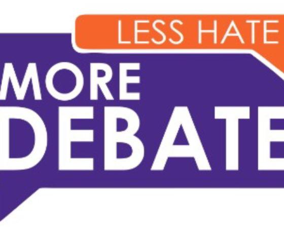 Less Hate More Debate
